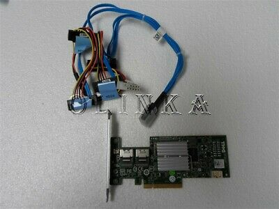 DELL POWEREDGE R310 SERVER PERC H200 PCI  6Gbps RAID KIT FOR CABLED HDD X394K