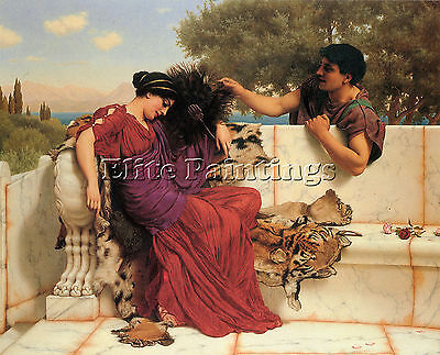 The Old Old Story Artiste Tableau Reproduction Peinture Huile Sur Toile A Main
