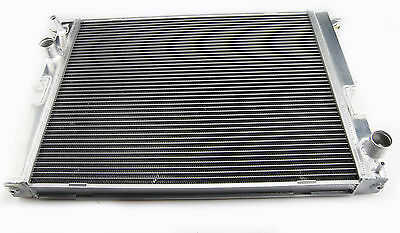 Bar And Plate Aluminum Racing Radiator For 1999-2007 Land Rover Defender 2.5 Td5