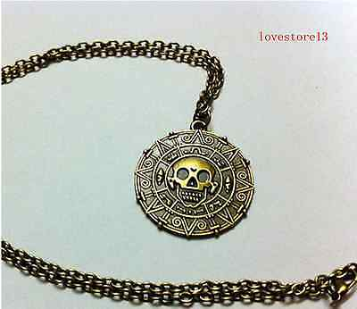 Pirates of the Caribbean coins Charm Pendant Necklace gift NEW SALE