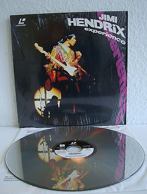 Jimi Hendrix experience | Laserdisc PAL | LD: Gut - Sehr Gut | Cover: Gut - Sehr
