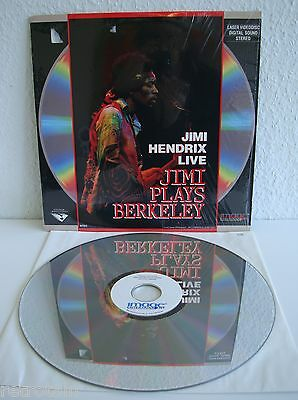 Jimi Hendrix Live | Jimi Plays Berkeley | Laserdisc | LD & Cover: Sehr Gut