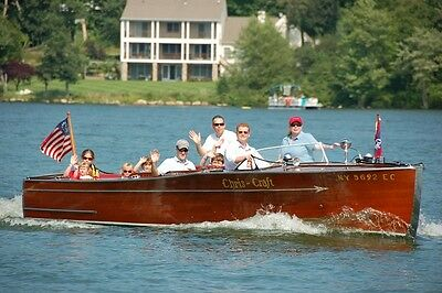 1940 25 foot  Chris Craft Sportsman, Classic Wooden Boat