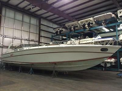 50 ft  Cary Express Offshore  Fresh Water Boat Clean