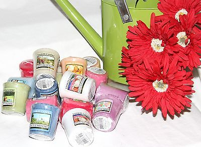 Yankee Candle Summer Time Votives set of 2- Including New this Year,  - U Pick