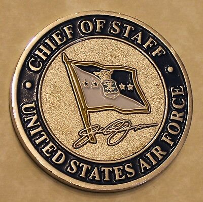 General Jumper Chief of Staff United States Air Force Challenge Coin
