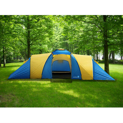 Peaktop 9-12 Persons Waterproof Large Family Group Camping Hiking Tent