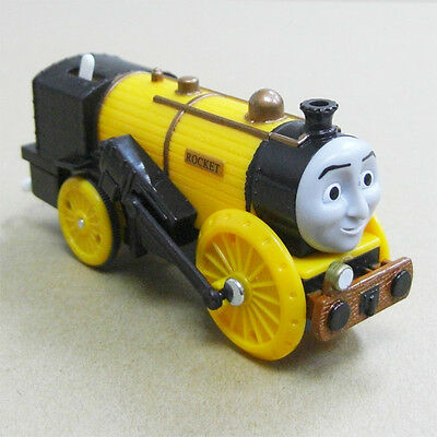 Loose Fisher Trackmaster Thomas Motorized Battery Train - Stephen Rocket Head