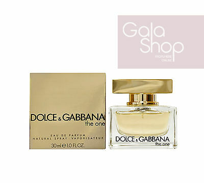 a07df74e65bf2a Dolce E Gabbana D g The One 30Ml Eau De Parfum Profumo Donna Edp Natural  Spray