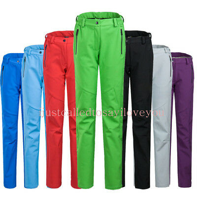 Women's FLEECE Soft Shell Shark Skin Trousers Climb SNOW Board SKI Pants