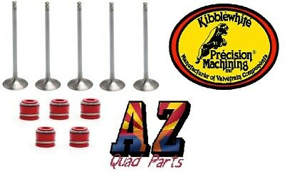 Yamaha YZ450F YZ 450F Stock Size Kibblewhite Intake Exhaust Valves Seals Set Kit