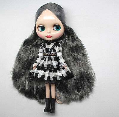 "Takara 12/"" Neo Blythe Long Hair Nude Doll from Factory TB0201"