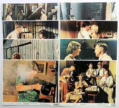 THE GRISSOM GANG 8 x 10 Color Film Stills Lot Of 8 1971 Kim DARBY Connie STEVENS