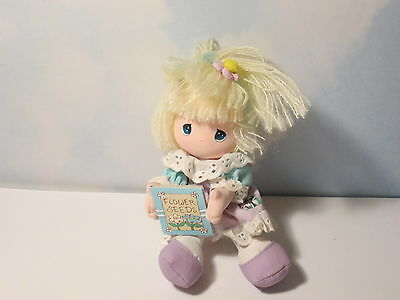 Precious Moments Gardening Applause Plush Girl with Flower Seeds