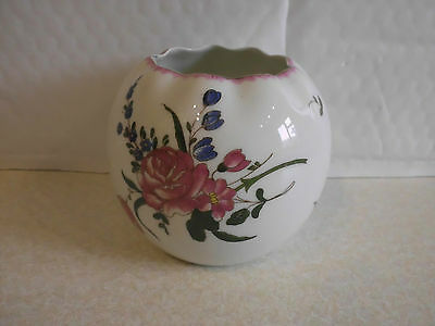 Limoges Lanternier Hand Painted Vase or Sugar Bowl