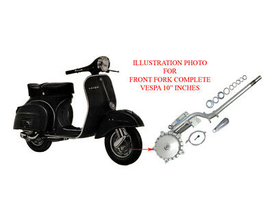 Vespa Vbb Front Fork Assembly Modified For Vbb 8 To 10 Inches Scooters New V1147