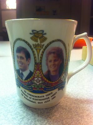Mug To Commemorate Marriage Of Sarah Ferguson And Prince Andrew