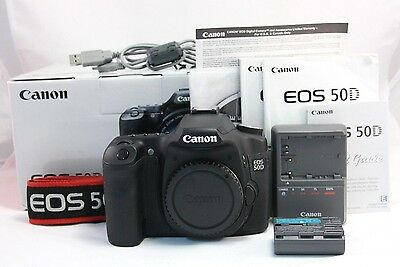 Canon EOS 50D 15.1 MP DSLR Camera Body. Only 4,317 shots! EXC Cond. Ships Fast