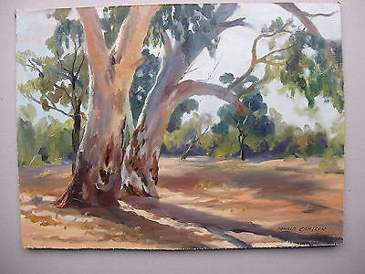 Donald Cameron  Signed oil painting