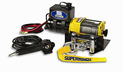 Strong Winch ATV Truck Off Road Jeep 3000# Pull Rating Mud Rock Farms Portable