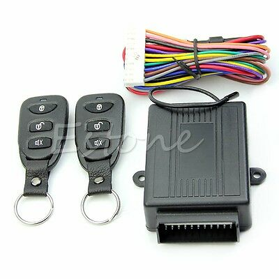 2015 New Universal Car Remote Central Kit Door Lock Vehicle Keyless Entry System