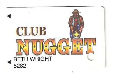 Casino SLOT CARD / Players Club Card - PAHRUMP NUGGET Casino  - Pahrump Nevada