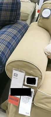 IKEA EKTORP SLIPCOVER 2 Seat Loveseat Sofa with Chaise Cover IDEMO BEIGE