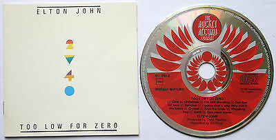 Elton John ,Too Low For Zero, Rocket, Watermelon, West Germany, Non Target, 1983