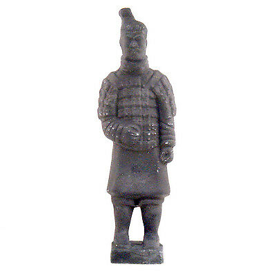 Terracotta Warrior Chinese Clay Xi-An Replica Soldier Statue Oriental Decor #AA3