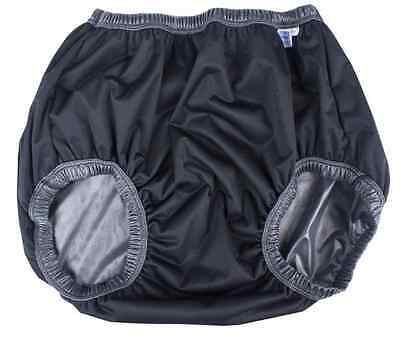 BLACK No Leak Waterproof GARY ACTIVE BRIEF Adult Incontinence Washable GAPBX