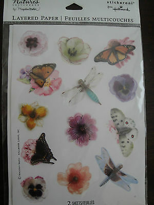 Marjolein Bastin Stickers 2 Sheets Total of 26 stickers