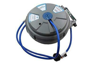 """Bergen 8mm (1/4"""") x 15m (50ft) Retractable Wall Mounted Air Hose Reel B8109"""
