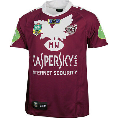 Manly Sea Eagles NRL ISC Heritage Jersey Sizes S-3XL! BNWT's! On Sale! 5