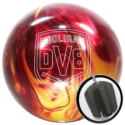 Bowling Ball DV8 Hooligan TROUBLE MAKER 10-15 lbs Bowlingkugel Reactive Reaktiv