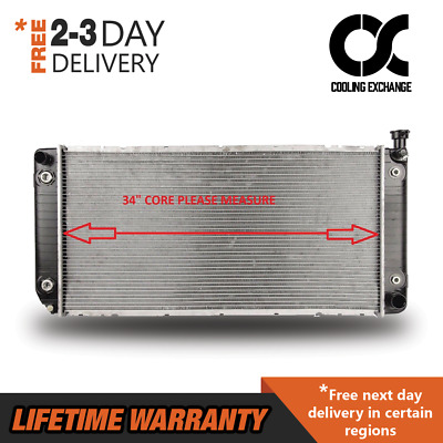 New Radiator For Chevy C/K Series GMC C/K Yukon 5.0 5.7 V8 Lifetime Warranty