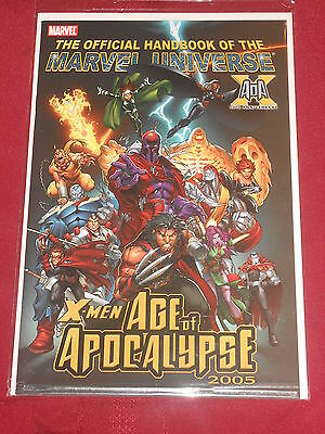 Official Handbook of the Marvel Universe: X-Men Age of Apocalypse 2005 NM