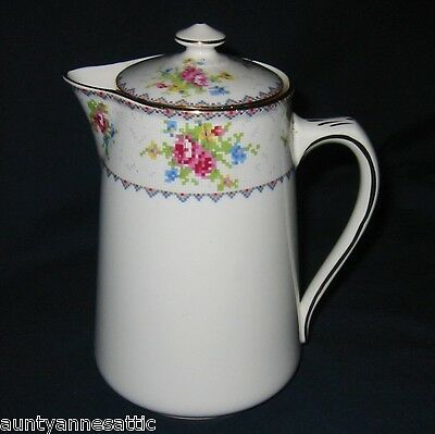 Royal Albert - Petit Point - Hot Water Pot -  (RARE)