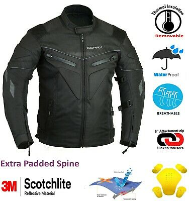 Spine Pad Motorbike Motorcycle Jacket Waterproof Breathable