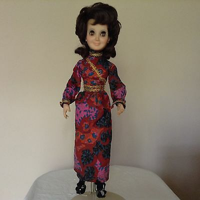 """Hasbor Aimee Doll 1972 18 to 21"""" opens and closes eyes"""