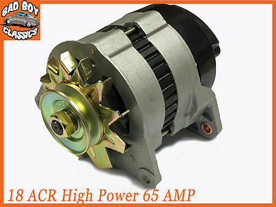 18ACR High Output 65 Amp Alternator, Pulley & Fan Fits FORD ESSEX V6