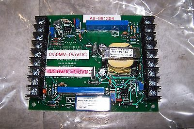 New Rapid Power Technologies 015681 Firing Control Board 0/50Mv=0/5 Vdc