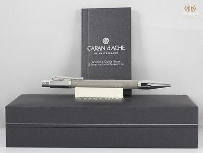 Caran D'ache Varius Ivanhoe Silver Plated Finish Ball Point Pen Superb Awesome !