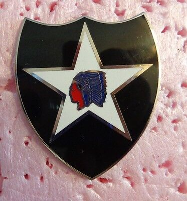 COMBAT SERVICE ID.BADGE,  2ND INFANTRY DIVISION