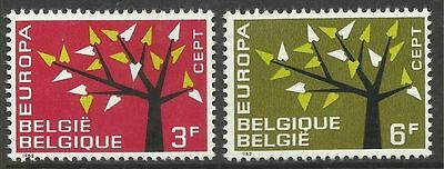 BELGIUM. 1962. EUROPA Set. SG: 1822/23. Mint Never Hinged.