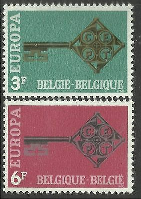 BELGIUM. 1968. EUROPA Set. SG: 2073/74. Mint Never Hinged.