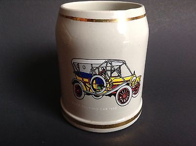 Vintage Buick Touring Car Beer Stien Mug Made in Germany Collectible Cup