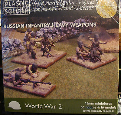 PLASTIC SOLDIER WW2015004 Russian Infantry Heavy Weapons 15mm in Canada SS