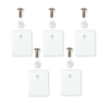 5Pcs TO-3P Ceramic Transistor Triac Thyristor Insulation Pads Insulator Mica