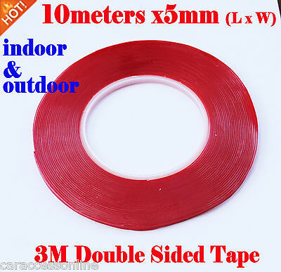 3M Double Sided VHB Acrylic Gel Tape clear 7302 5mmx10meters strong heavy duty