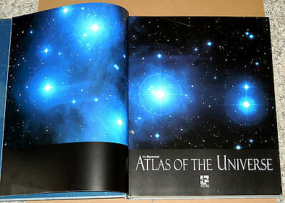 The Illustrated Atlas of the Universe by Mark A. Garlick (2006 First Edition HC)